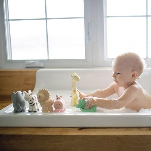 mordedor de borracha natural banho